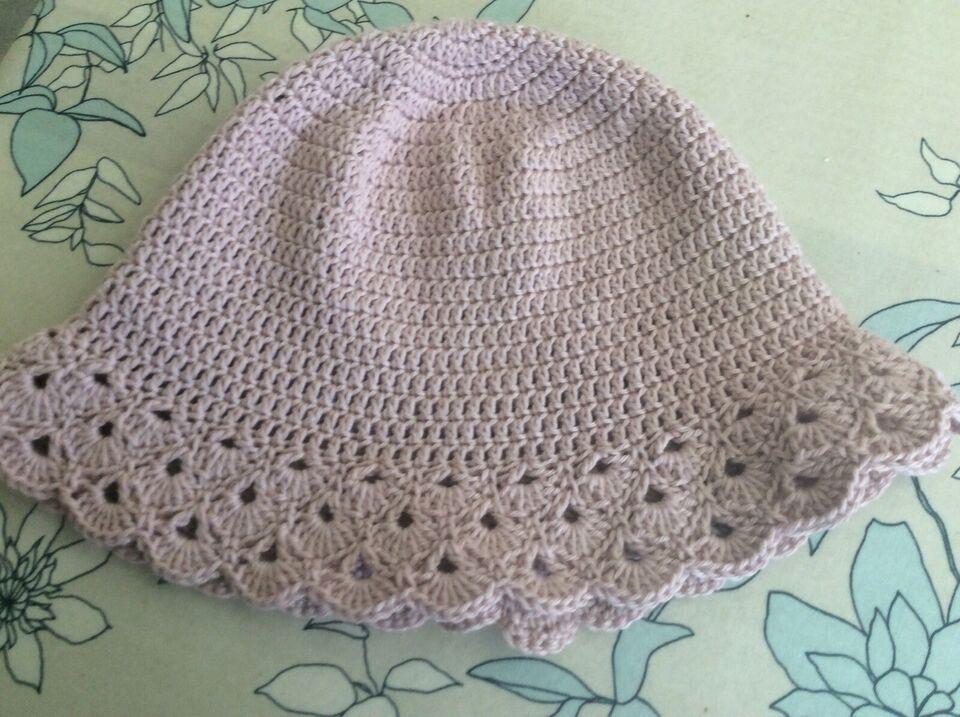Hat, Bøllehat/sommerhat, Hæklet