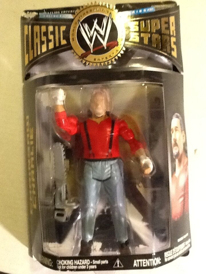 CHAINSAW CHARLIE TERRY FUNK  WWE Jakks Classic Superstars 2008 Series 22