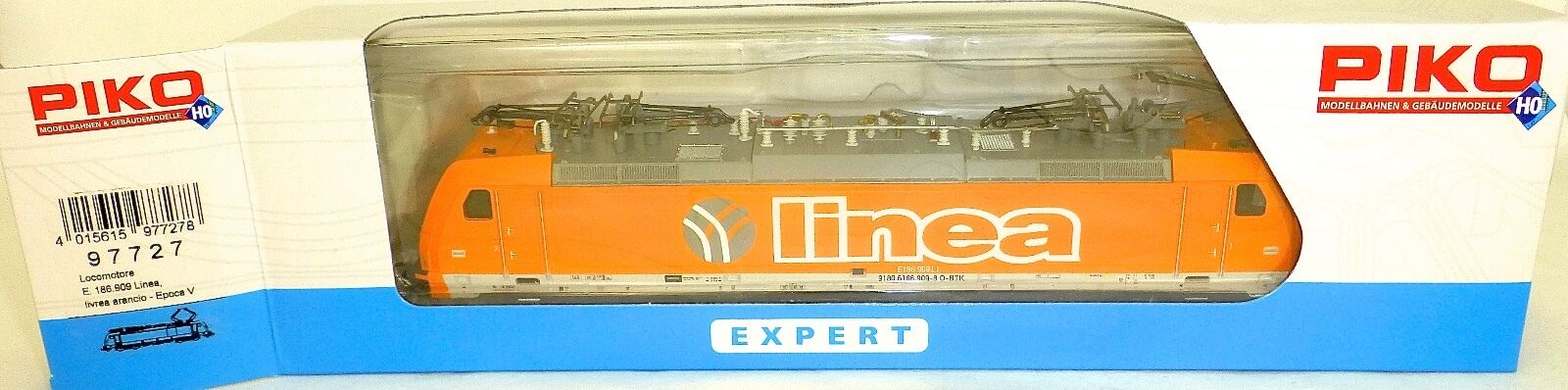 186.909 Linea orange EpV DSS PIKO 97727 H0 1 87 neuf et emballé micro HU4
