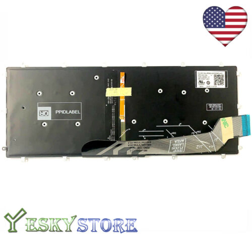 NEW Keyboard For Dell Inspiron 13 5368 5378 7368 7378  Backlit US