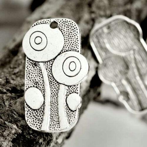37Stil 2-50stk Tibetan Silber Metall Anhänger Pendants Schmuckteile DIY
