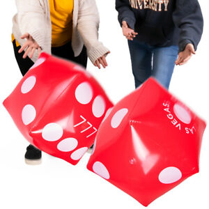 13-034-Jumbo-Inflatable-Dice-Multipack-2-pack-Large-Red-PVC-Blow-Up-Dice