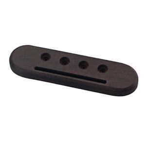Acoustic-Mini-Guitar-4-Holes-Rosewood-Bridge-Ukulele-Replacement-Parts
