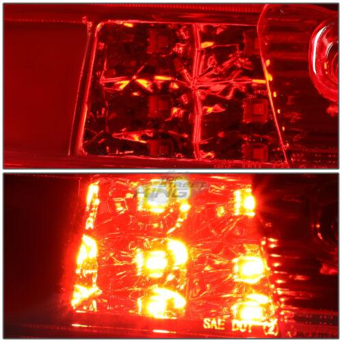 RED LENS 3D LED THIRD BRAKE LIGHT//LAMP FOR 14-18 SILVERADO//SIERRA EASY INSTALL