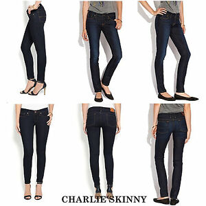 new Brand with Fit Denim low slim donna Skinny Jeans tag charlie Lucky rise da vzwvq