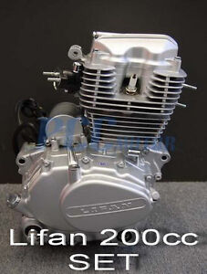 200cc Lifan CG200 Engine Full Gasket Kit Dirt Bike ATV Quad Moped Gas New M GS15