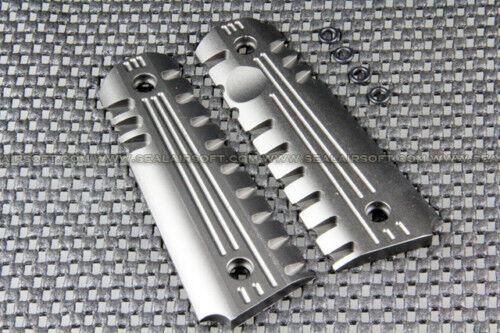 Aluminum Type Airsoft Toy Pistol Grip Cover For M1911 Series ACM-M1911RC-SR