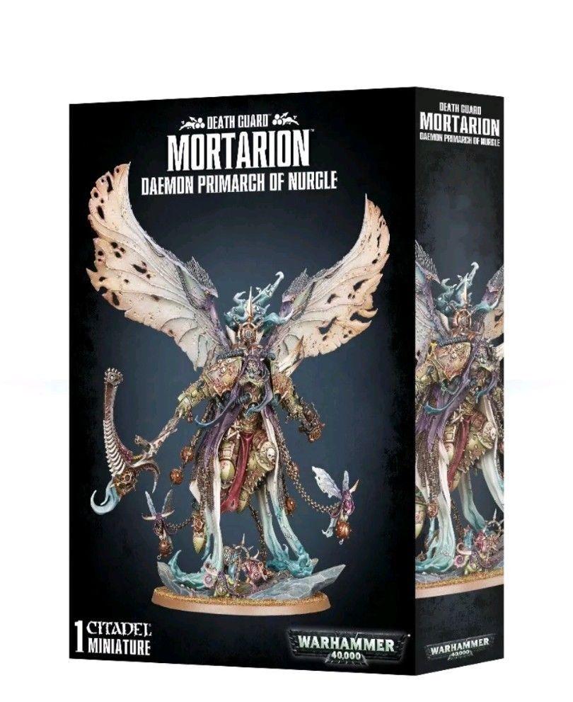 Warhammer 40k Primarch demonio Guardia muerte mortarion de Nurgle GWS 43-49 Nuevo En Caja