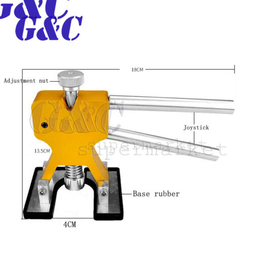 Car Paintless Dent Repair Hail Damage Remover Puller Lifter 18 Tab Tool Kit