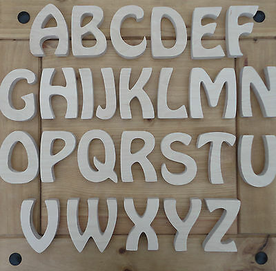 18mm thick MDF Wooden Letters Free Standing option 10,15,20,25,30 cm options