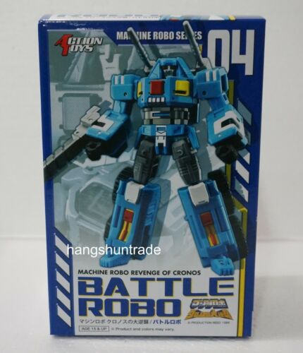 Action Toys Machine Robo Revenge Of Cronos 04 Battle Robo Gobots Tank Figure