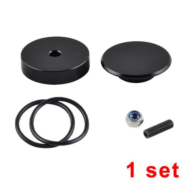 Car Rear Wiper Delete Kit Black Plug Cap For Honda Civic