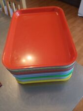 Lot Of 19 Dental Size B Type Dental Trays With Multiple Colors