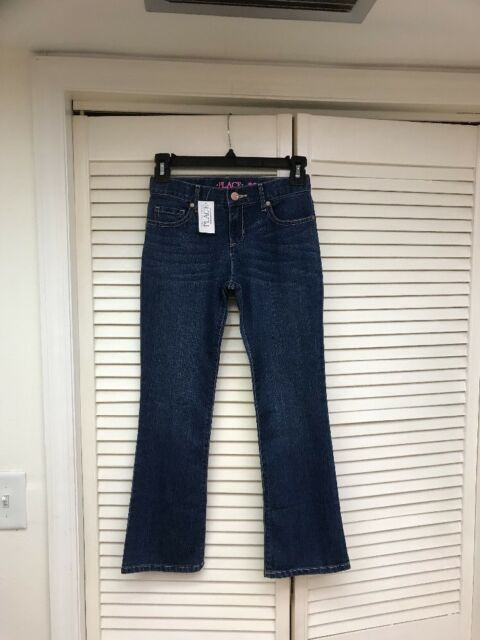 2f9a32cf8a8 The Children's Place Girls Bootcut Jeans Size 10 Adjustable Waist ...