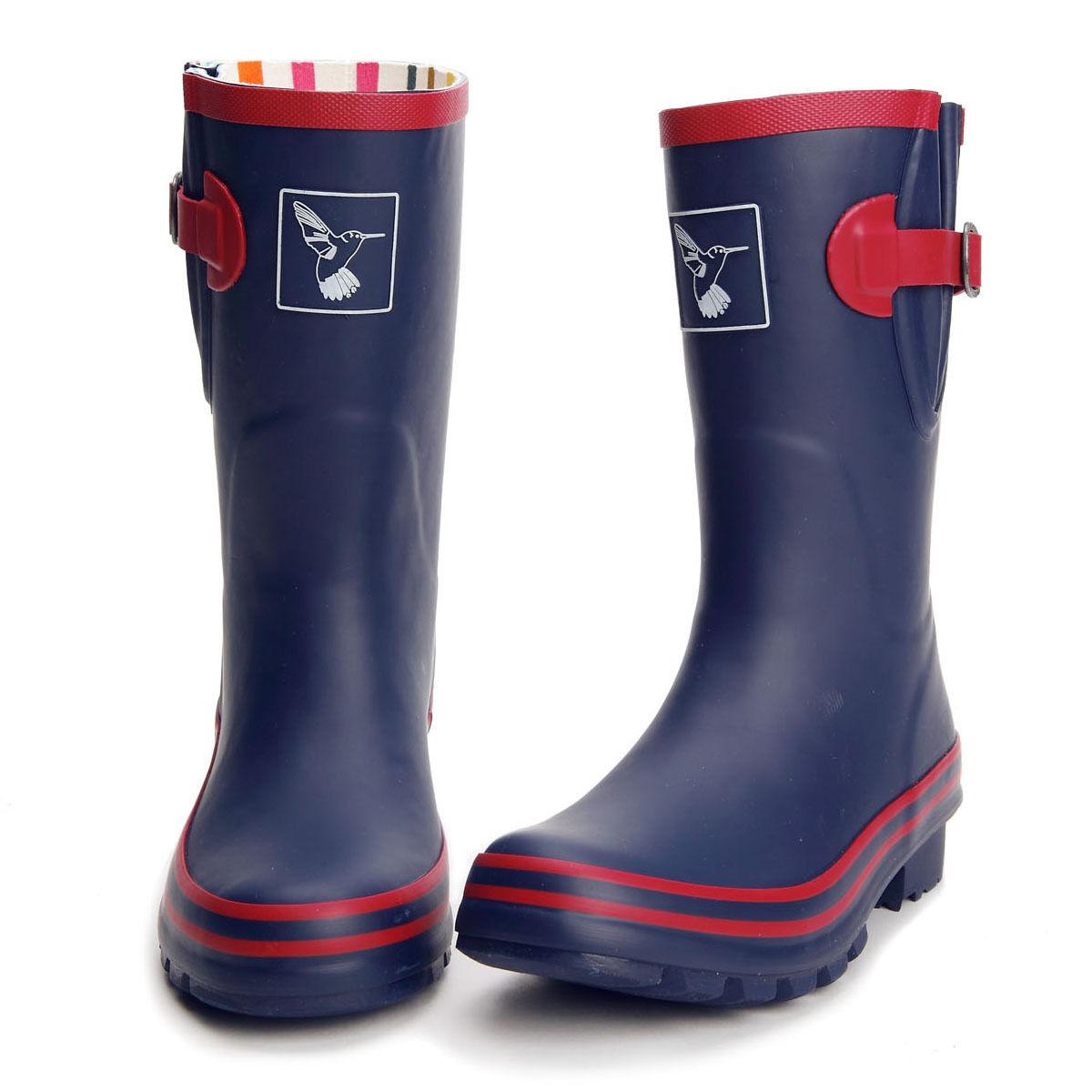 Evercreatures High Quality Women's Rain Boot Wellies Waterproof Boots UK Brand