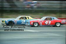 RARE DALE EARNHARDT SR #2 vs RICHARD PETTY #43 1979 4X6 PHOTO NASCAR WINSTON CUP