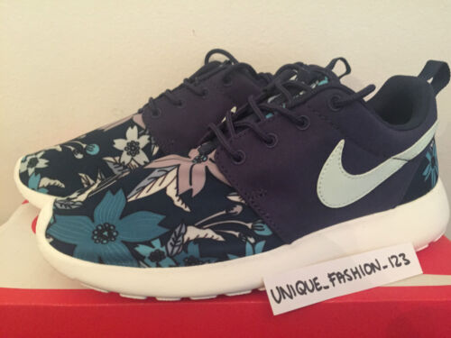 3 Nike 5 36 Prem Midnight 6 One Wmns Premium Uk Stampa Floral Run 5 Us Roshe Navy 0wWqdxTC