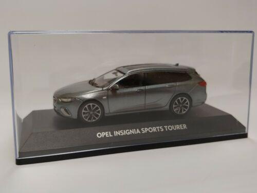 Voiture miniature Opel Insignia SportsTourer 1:43 Lichtgrau modèle de collection oc10926 NOUVEAU