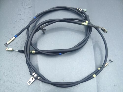 GENUINE MG ROVER MGTF TF HAND BRAKE CABLE SET PAIR SPB000600 SPB000610