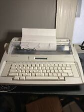 Brother Gx 8250 Correctronic Electronic Typewritertested With Cover Near Mint