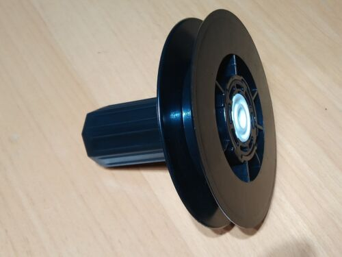 für Gurt 14 mm oder Schnur 40er Welle Gurtscheibe 120 mm mit Walzenhülse f