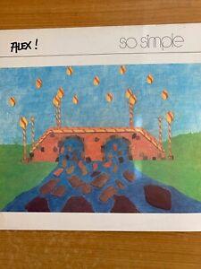 Alex ! - So Simple // LP - 1. German-Pressing 1984 - TOP condition