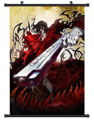 4745 Alucard Hellsing Decor Poster Wall Scroll cosplay