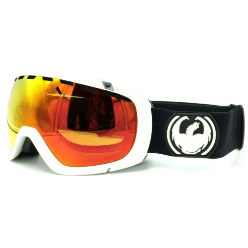 "Dragon Alliance /""ROGUE/"" Inverse Black Red Ion Ski Snow Goggles"