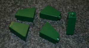 Standard Plate Bricks  ~ Lego  ~ NEW 10 1x2 Earth Green Dark Green