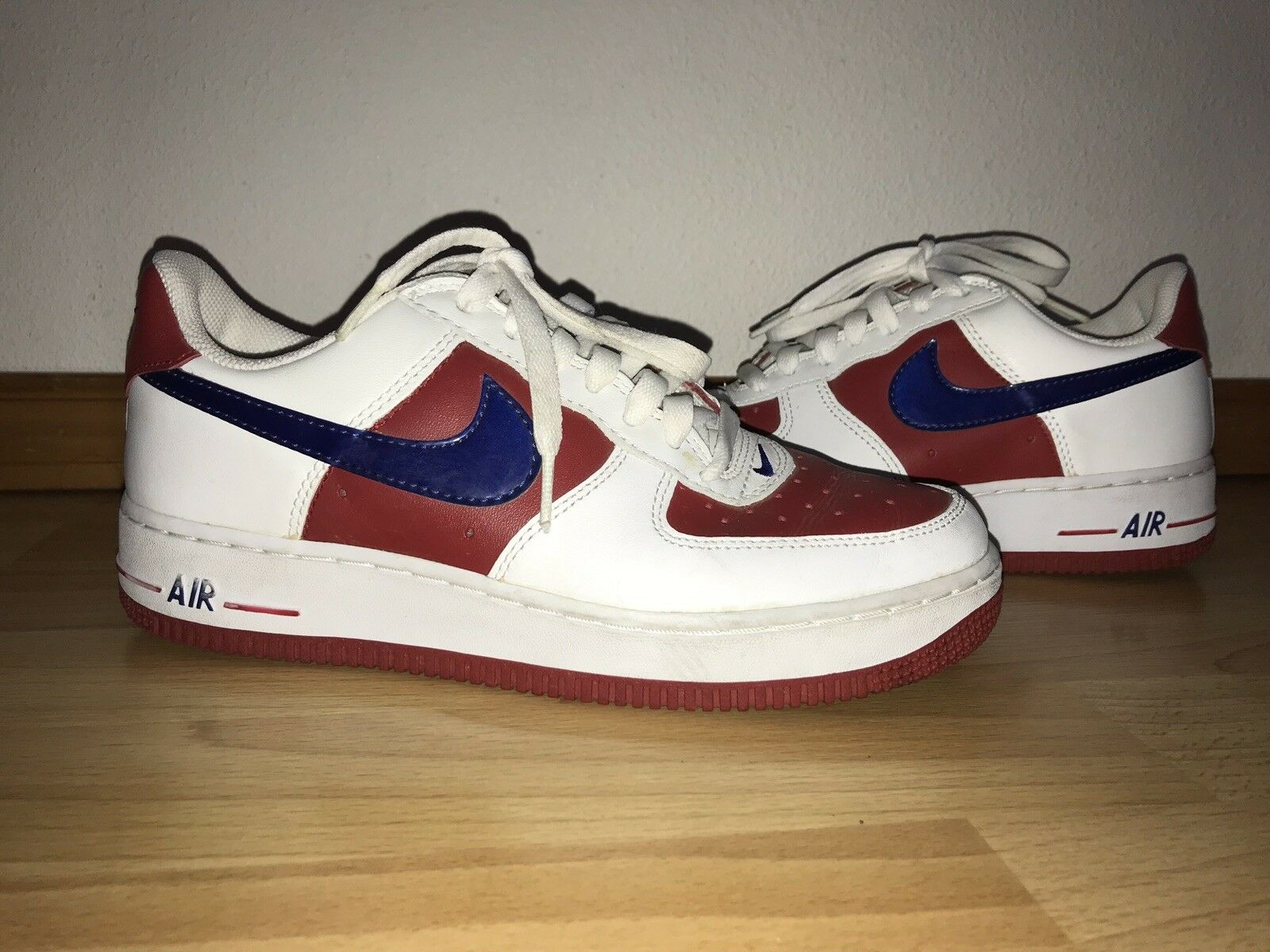 Nike Air Red White And bluee shoes