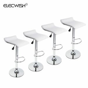 Groovy Details About Set Of 4 Adjustable Bar Stool Backless Counter Dining Chair Air Lift Swivel Seat Machost Co Dining Chair Design Ideas Machostcouk