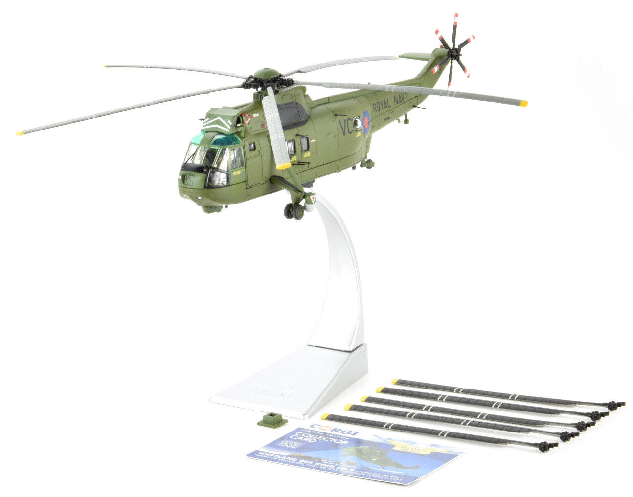 Corgi Westland Sea King HC.4 Falklands Conflict 1 72 Die-Cast Helicopter AA33421