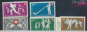 Schweiz-555-559-postfrisch-1951-Pro-Patria-7387783