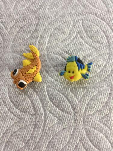 FISH SHOE CHARMS KOI SHOE CHARM FLOUNDER SHOE CHARM FITS CROCS FISH CLOG CHARMS