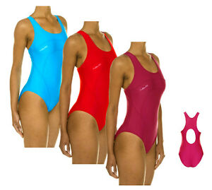 top schwimmer badeanzug schwimmanzug gr 38 40 42 44 46 48 altrosa rot t rkis. Black Bedroom Furniture Sets. Home Design Ideas
