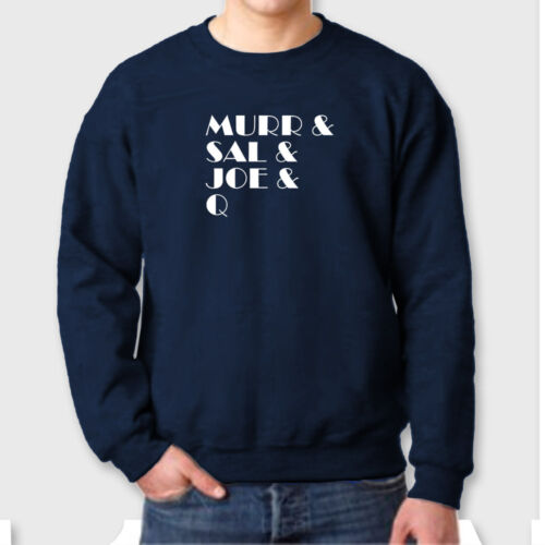 Murr Sal Joe Q Funny Comedy T-shirt Tvs Impractical Jokers Crew Neck Sweatshirt