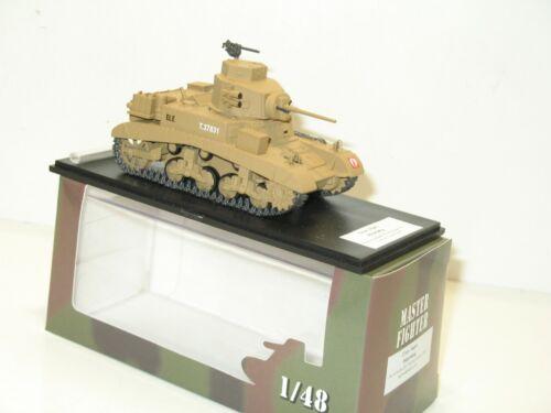 Master fighter 1//48 Char léger STUART HONEY rats désert militaire gaso line