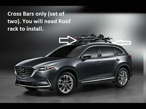 2018 Cx9 >> 2016-2018 Mazda CX-9 Cross Bars (roof Rack Required not included) 00008LN11 | eBay