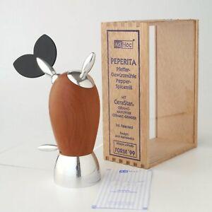 AdHoc-Ceramic-Salt-Pepper-Mill-Peperita-Pfeffermuhle-Gewurzmuhle-alessi-nib
