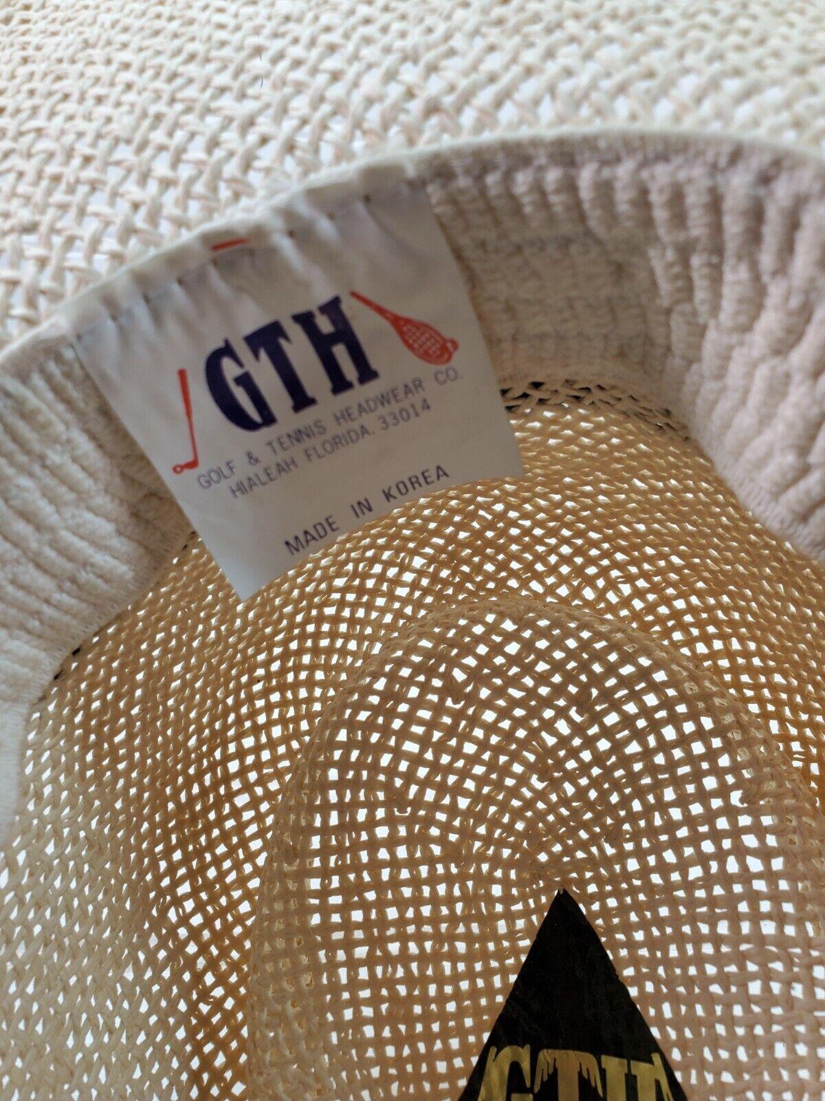 Saddlebrook Golf Club straw hat Cap golf, tennis … - image 2