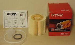 R2648P-RYCO-Oil-Filter-Kit-for-Toyota-Aurion-Kluger-Rav4-Tarago-3-5L-V6-2GRFE
