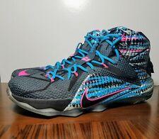cdf255e30215e item 5 Nike LeBron XII 12 Chromosomes Black Pink Basketball Shoes Sz 11.5 (684593  006) -Nike LeBron XII 12 Chromosomes Black Pink Basketball Shoes Sz 11.5 ...