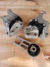 Complete Engine Motor Amp Transmission Mount Set 3pcs For Jeep Cherokee 24l