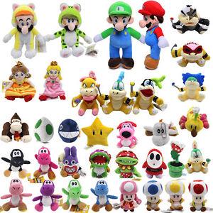 15cm-25cm-Super-Mario-Bros-Plush-Doll-Stuffed-Soft-Luigi-Birdo-Caterpillar-Toy