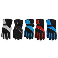 Men's Winter Waterproof Motorcycle Hiking Ski Snow Snowboarding Warm Gloves - 6A