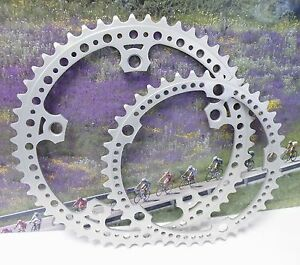 SR ROYAL 144BCD 54-44 drilled chainring set , fits campagnolo  nuovo record
