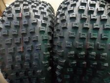 THREE 22/11-8,22/11.00-8,22/11.00x8 ATV HONDA 4 ply Knobby Four Wheeler Tires