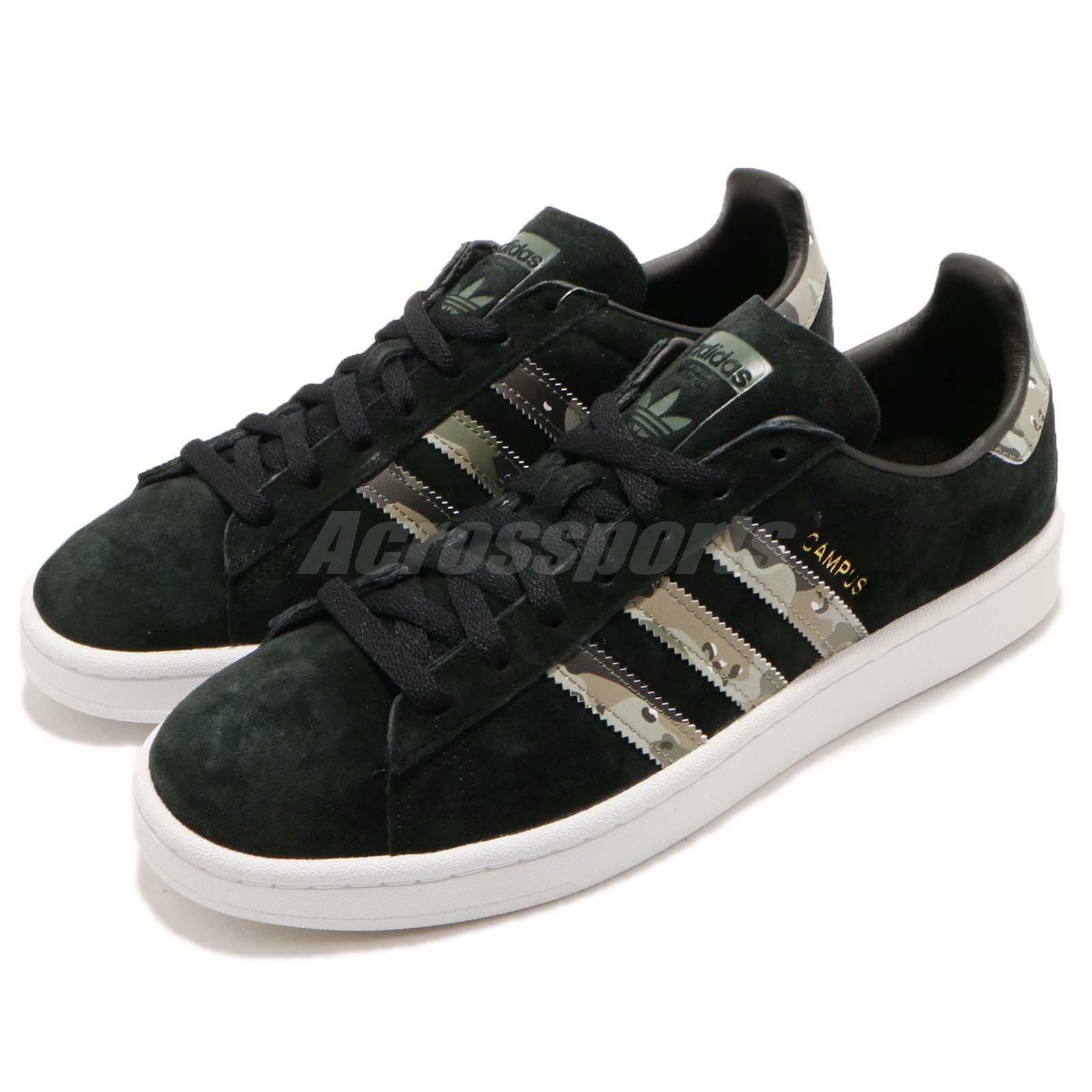 adidas Originals Campus noir Trace Cargo Camo homme Casual chaussures Sneakers B37821