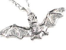Flying Bat handmade Pewter Pendant