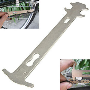 Chain Wear Repair Checker Bicycle Cycling Indicator Accessory Ruler Portable